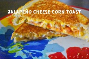 Jalapeno cheese corn toast (40)