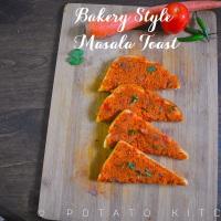 Bakery style Masala Toast | Iyengar Bakery Toast
