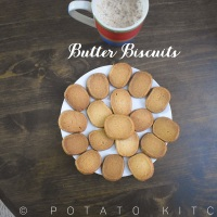 Butter Biscuits | Crispy Tea Shop Biscuits