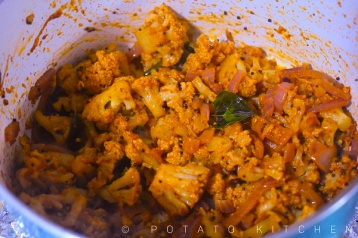 cauliflower masala poriyal (12)