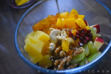FRUIT SALAD WITH HONEY DRESSING (3)