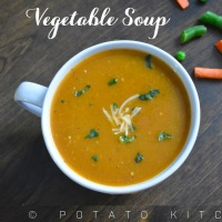 Vegetable Soup | Healthy Mixed Vegetable Soup | Easy Soup