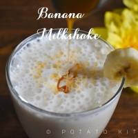 Banana Milkshake | Easy and Healthy Banana Smoothie