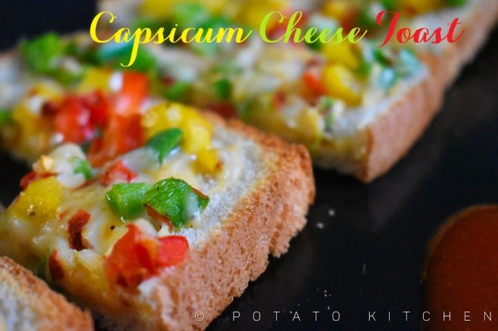 CAPSICUM CHEESE TOAST (33)