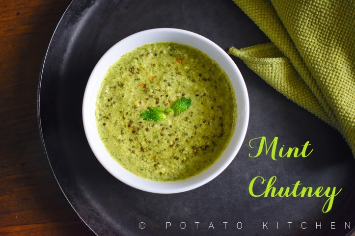 MINT CHUTNEY WITH COCONUT (25)