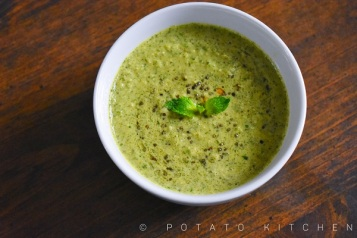 MINT CHUTNEY WITH COCONUT (8)