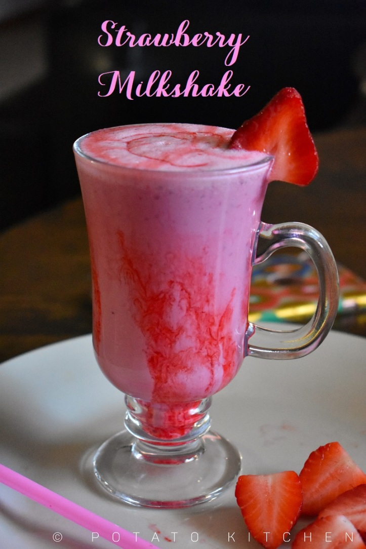 STRAWBERRY MILKSHAKE (10)