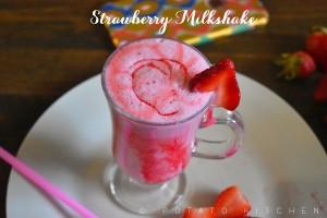 STRAWBERRY MILKSHAKE (4)